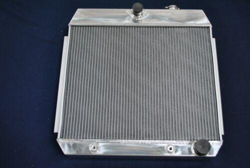 3Row Aluminium Radiator 1955-1957 Chevrolet Bel Air 150 250 Series 4.3 V8 Cooler