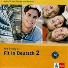 Mit Erfolg zu Fit in Deutsch 2. Audio-CD von Sylvia Janke-Papanikolaou und Karin Vavatzandis (2006)