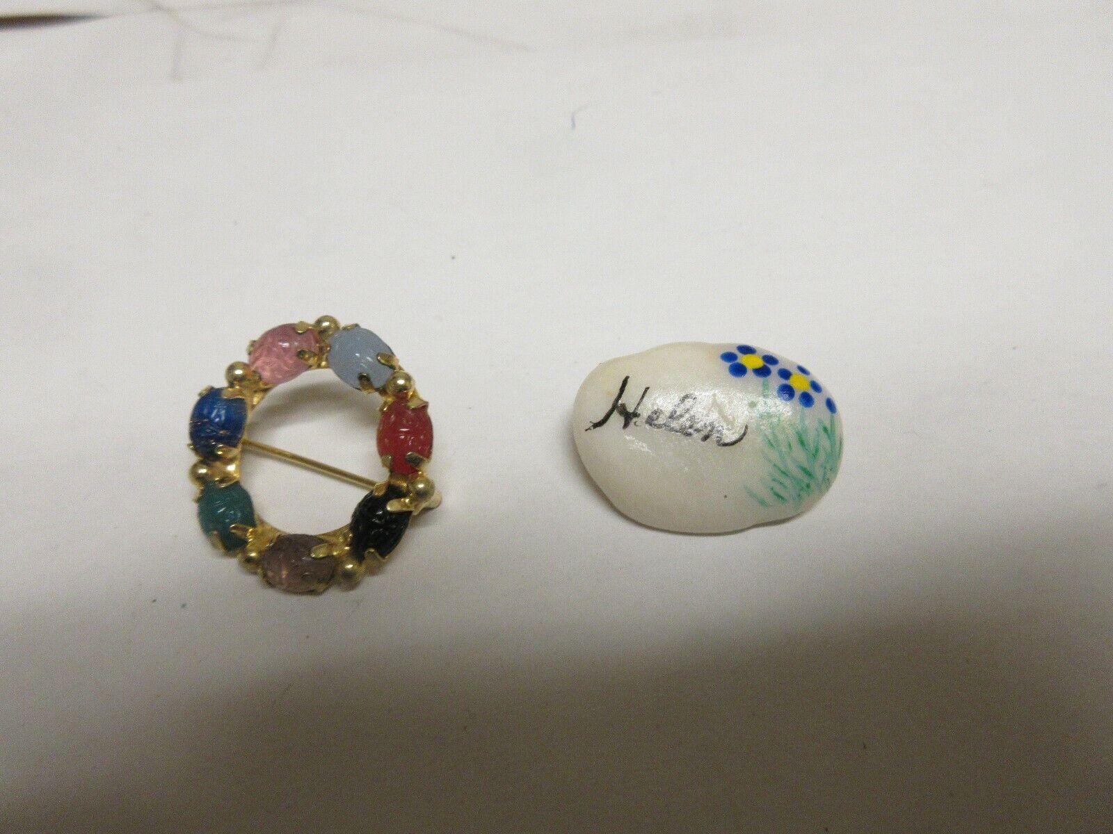 Costume Jewelry , Ladies Pins / Brooch , Vintage
