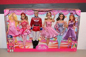 Barbie, dolls, puppen,Barbie in the Nutcracker,Der Nußknacker, 4-pack - Deutschland - Barbie, dolls, puppen,Barbie in the Nutcracker,Der Nußknacker, 4-pack - Deutschland