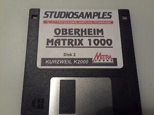 Kurzweil-OBERHEIM-MATRIX-1000-Disk-2-V-A-S-T-Native-KRZ-Programs