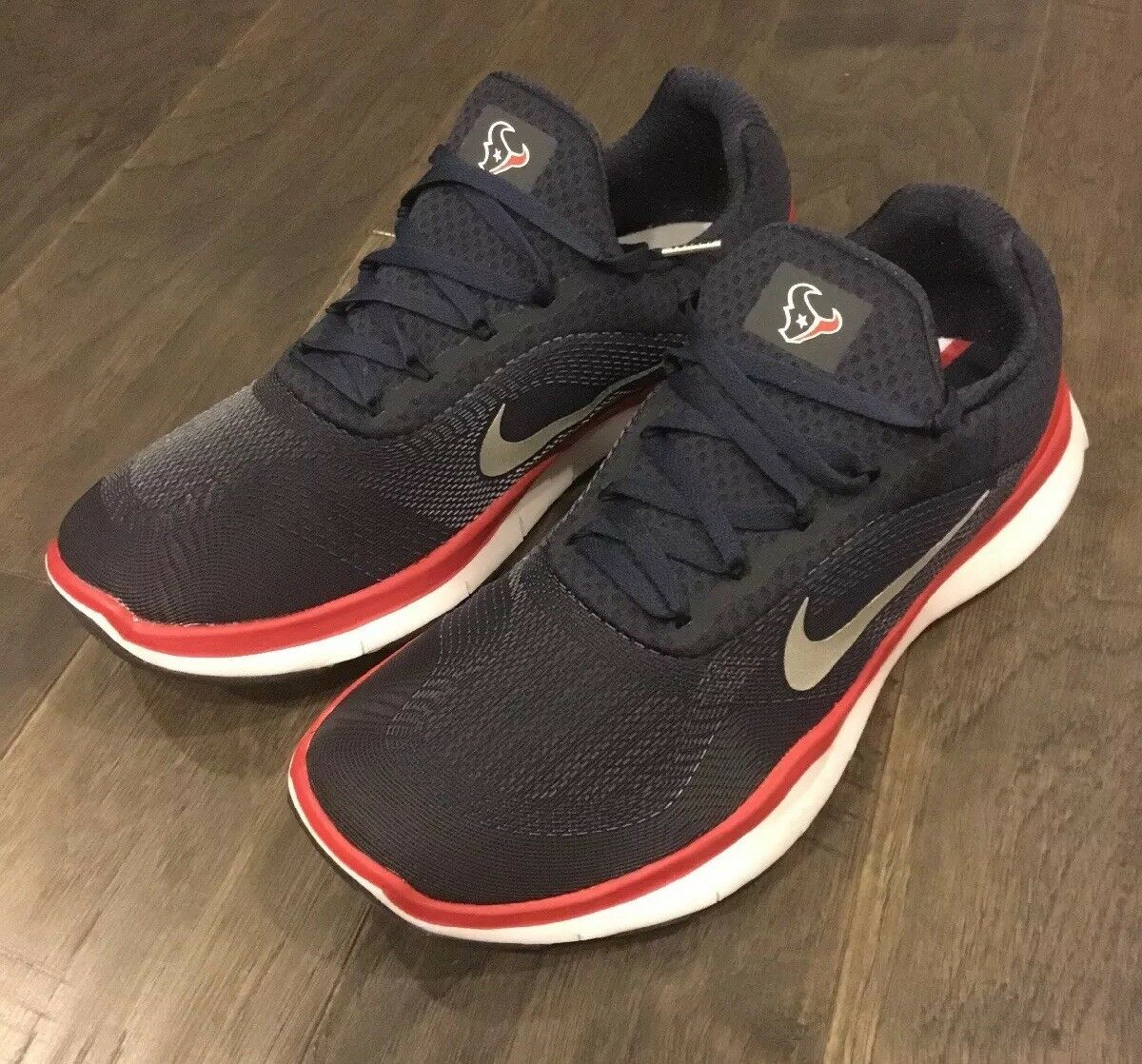 Houston Texans Nike Free Trainer V7 NFL shoes Sneakers Men's AA1948 403 Sz 13
