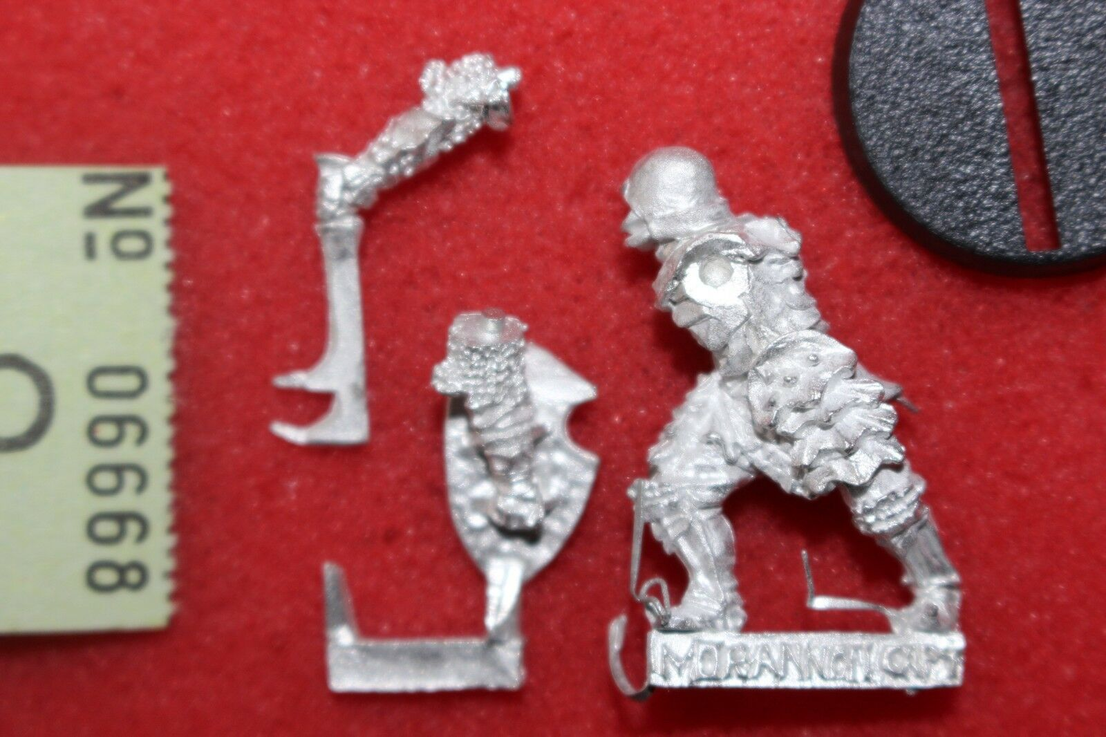 Games Workshop Lord Of The Rings Morannon Captain Orc Orcs New Metal LoTR OOP