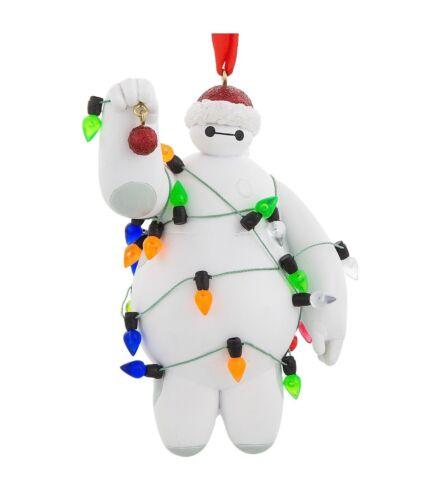Disney Parks Big Hero Baymax with Lights Holiday Christmas Ornament New w Tag