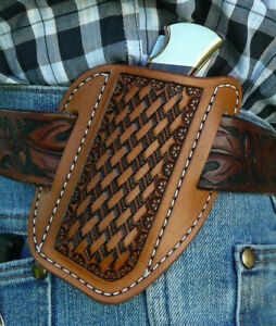 Large-Leather-Cross-Draw-Pocket-Knife-Sheath-Ruff-s-Saddle-Shop-Brown