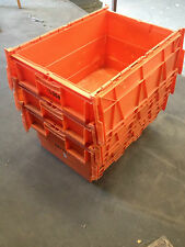 50 large plastic storage boxes tote boxes containers car parts toys shed storage