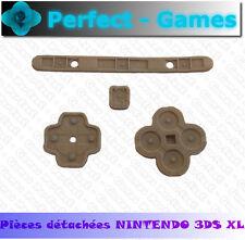 Kit set pad pavés boutons caoutchouc rubber conductor console nintendo 3DS XL LL