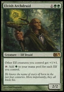 MTG-Elvish-Archdruid-English-Magic-2013-Free-P-amp-P