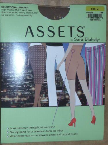 Assets by Sara Blakely Sensational Shaper Pantyhose Mocha Mid Thigh Shaper Tummy