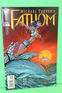 Fathom #5 Michael Turner Top Cow Image Comic Comics VF