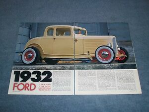 1932 Ford 5-Window Highboy Coupe Vintage Style Hot Rod Article