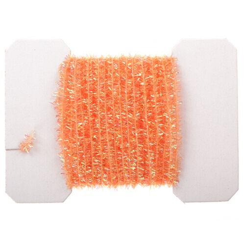 2 Yards Dollhouse Miniature Halloween Orange Tinsel Garland