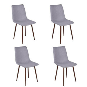 Set of 4 Tufted Parsons Dining Chair High Backrest ...