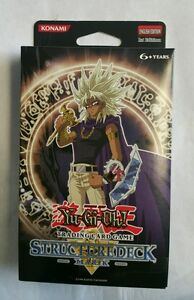 Yugioh 1st edition Marik English Structure Deck Sealed New L@@K FREE Shipping