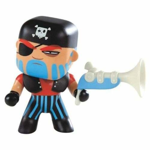 Djeco Arty Toys Pirate Jack Crâne Collectible Figurine