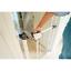 Callowesse Kemble pression Fit étroit escalier porte 65-72 cm Blanc