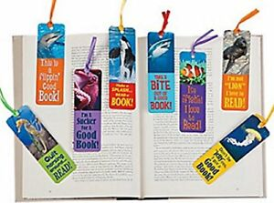 Sea-Ocean-Bookmarks-Book-Reading-School-Party-Bag-Fillers-Pack-Sizes-6-48