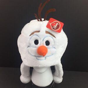 50efc475e21 Disney Frozen Olaf Winter Soft Plush Beanie Ski Cap Laplander Hat ...