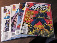 X-Man Age of Apocalypse #1 2 3 4 X-men Marvel Comic Book Mini Series Set 1-4