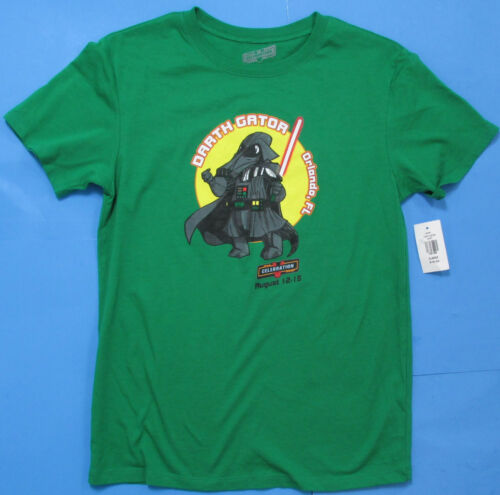 YOUTH T-SHIRT Star Wars Celebration V DARTH GATOR Vader discontinued short slv