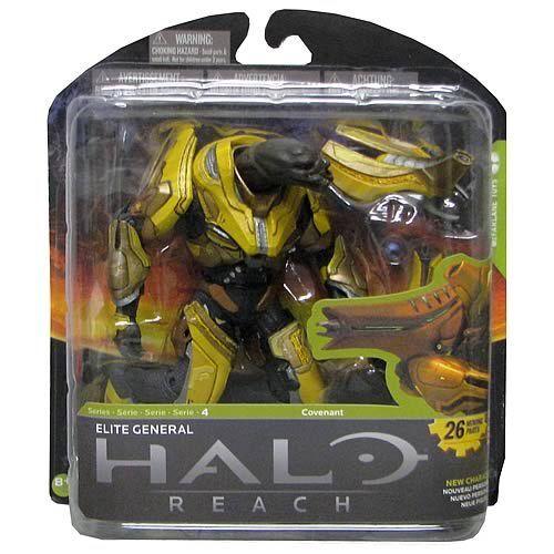 Halo reach mcfarlane spielzeug - serie 4 actionfigur elite - general
