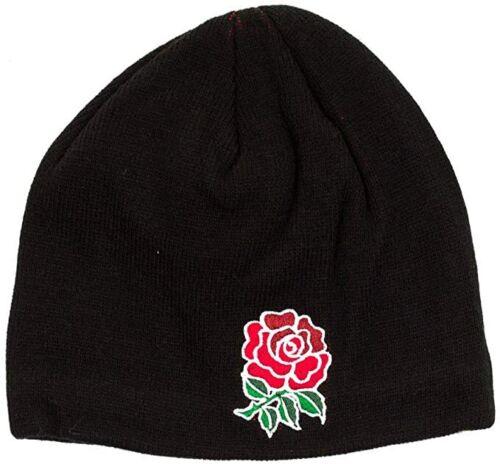 New England Rugby Canterbury Men/'s Fleece Beanie Hat Black