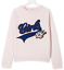 NEW-ZADIG-amp-VOLTAIRE-KIDS-039-Girls-039-sweatshirt-Light-pink-cotton-SIZE-Small miniature 3