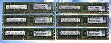 24GB SAMSUNG (6 x 4GB) HP 500203-061 PC3-10600R 1333MHz DDR3 240  ECC Reg Server