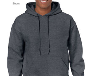 Gildan Heavy Blend Hoodie// Soft Hooded Fleece Sweatshirt 18500 S-XL