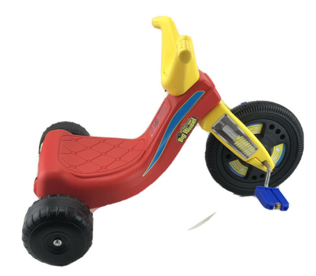 The Original Big Wheel 9 inch Racer Classic Tricycle - Red/Yellow - Excellent