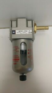"NEW OLD STOCK SMC 1//4/"" PNEUMATIC LUBRICATOR EAL2000-F02-X64"