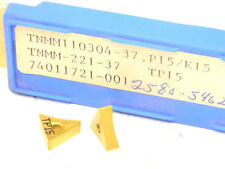 5 Seco Carbaloy CNMM 431-37 TP15 Carbide Inserts