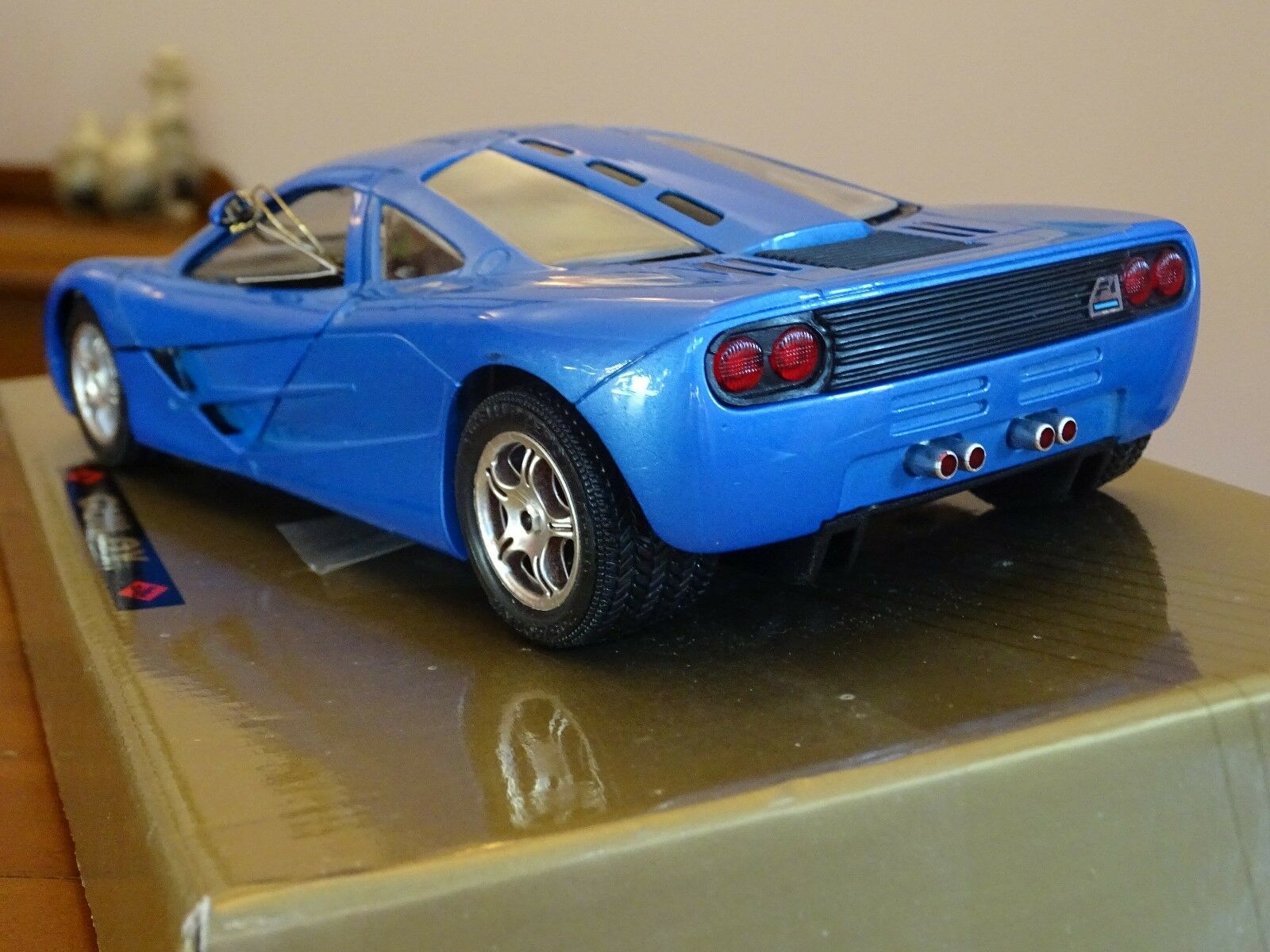 1 18 McLaren F1 6.1 Litro BMW V12 Super Coupe Raro blu blu