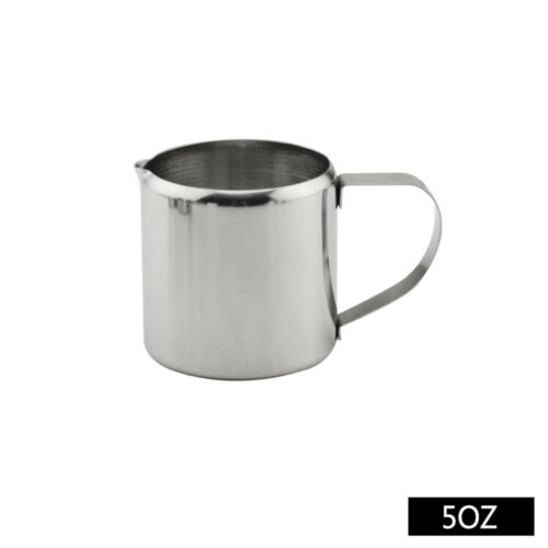 Durable BEC VERSEUR PICHET pot à lait Café Latte Crème Moussante en acier inoxydable