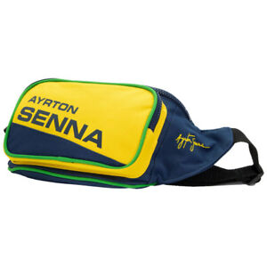ayrton senna g rteltasche helm 4250039681787 ebay. Black Bedroom Furniture Sets. Home Design Ideas