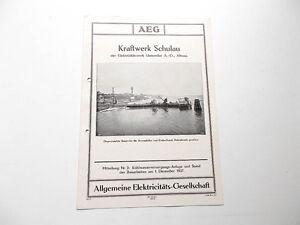 Firmenschrift-AEG-Kraftwerk-Schulau-Altona-Teil-2-1927-AEG-Berlin-1927