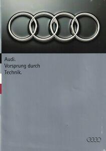 Audi 1994 Range UK Brochure 80 Saloon & Estate/Coupe/Cabriolet/S2/Quattro/100/S4