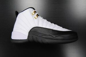 43d941626f5 130690 125] NEW MEN'S AIR JORDAN 12 RETRO TAXI 2013 WHITE BLACK V ...