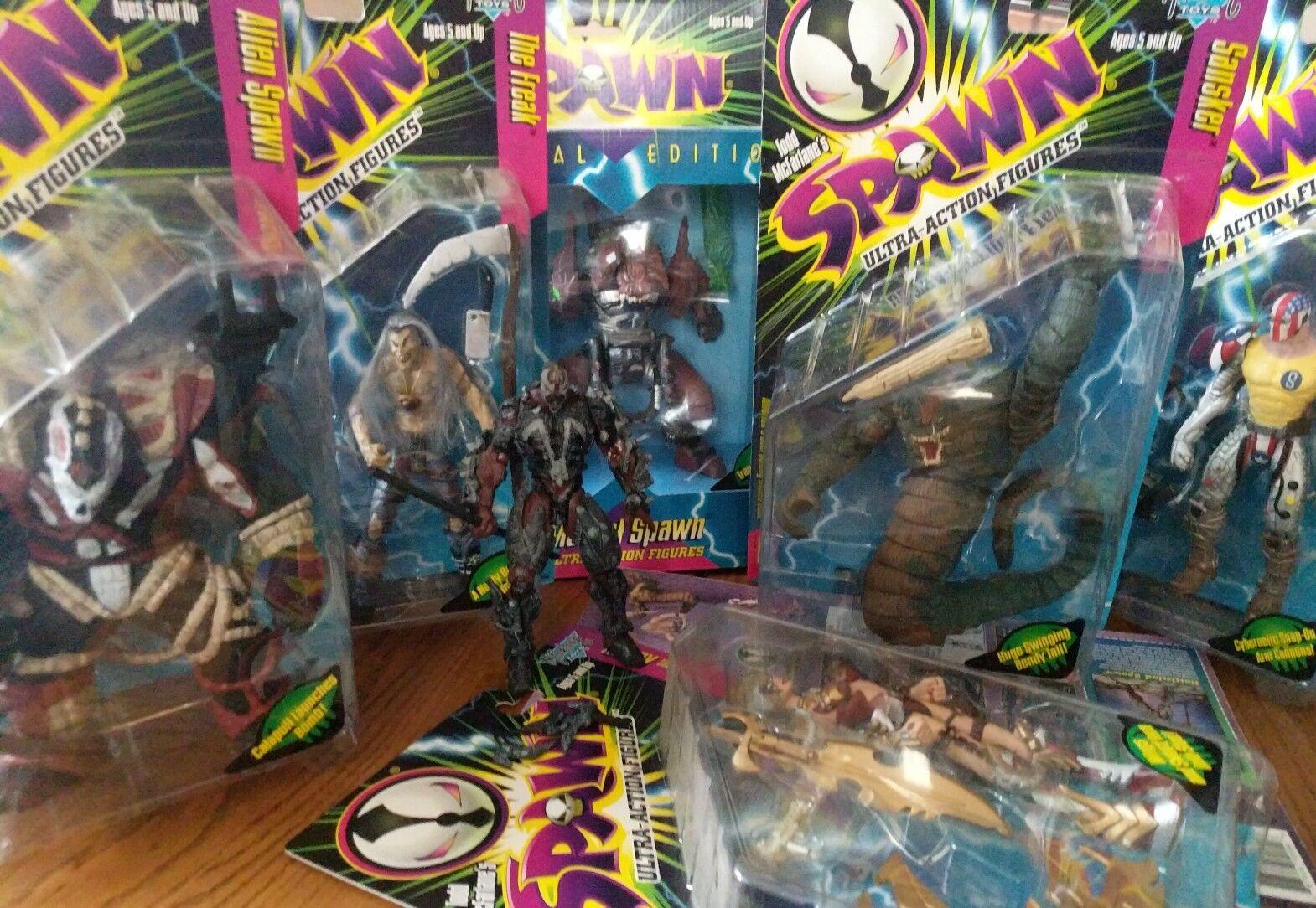 McFarlane (Venom) Spawn Series 6 Action Figure Set y compris Mutant SPAWN