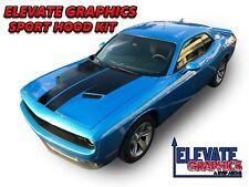 Fits Dodge Challenger Sport Hood Graphics Vinyl Stripes 3m Decals Stickers 15 21