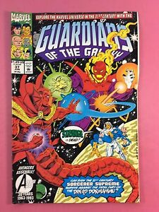 Guardians-de-Galaxy-Dr-Strange-Is-Dead-Marvel-Comics-No-37-Junio-FN