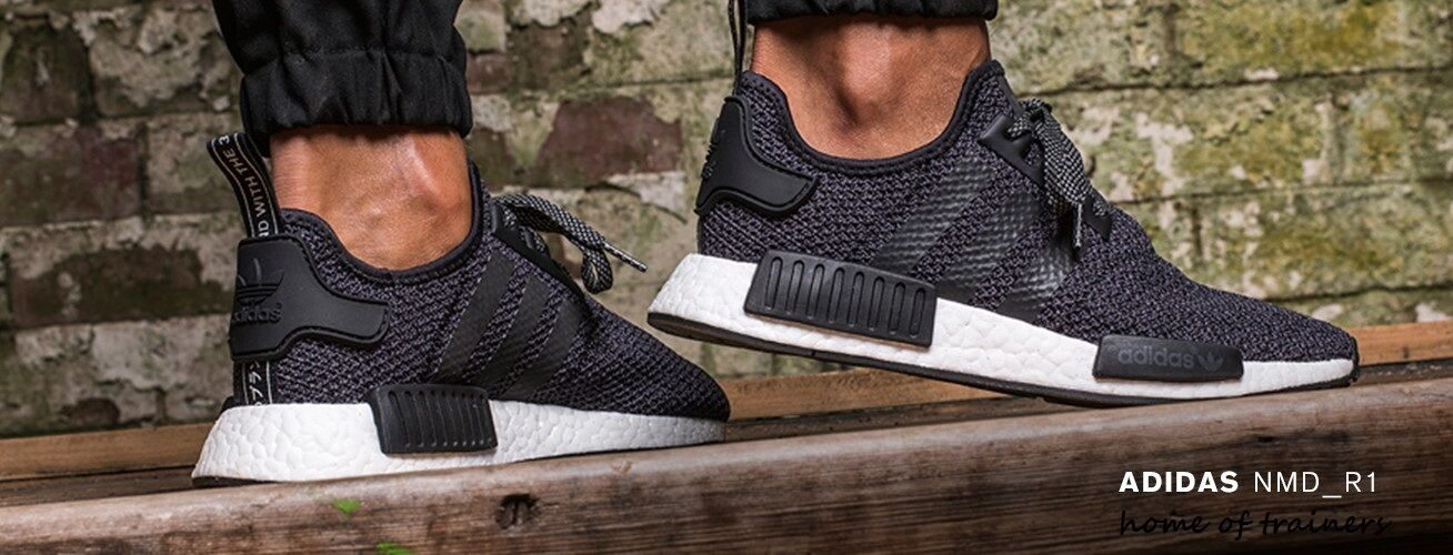 "adidas NMD_R1 ""Black Black White"" Men Trainer"