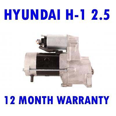 HYUNDAI H-1 2.5 MPV BOX 2000 2001 2002 2003 2004 REMANUFACTURED STARTER MOTOR