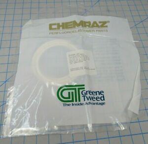 GREENE TWEED CHEMRAZ ORing; P//N 9131-SD653 LOT OF 4 AS-568A-131 CPD 653