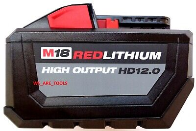 48-59-1808 Rapid Charger M18 NEW GENUINE Milwaukee 12.0 AH 48-11-1812 Battery,1