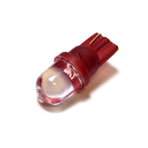 Fits Honda Accord MK7 501 W5W Red Interior Glove Box Bulb LED Trade Price Light