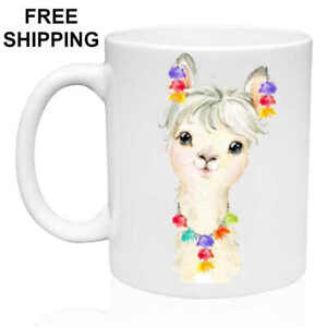 Sweet-Llama-Birthday-Christmas-Gift-White-Mug-11-oz-Coffee-Tea