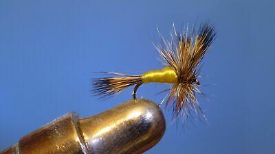 1 dozen Adams Dry Fly #16 Fly Trout Fishing Flies NIB