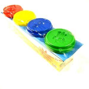 Jeu-Et-Apprenez-Amusant-Doh-4-Pots-Tube-Pot-Assorti-Enfants-Cadeau-Pots-Couleurs