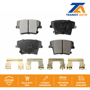 2008 For Dodge Challenger Front Set Ceramic Brake Pads with 2 Years Manufacturer Warranty Both Left and Right